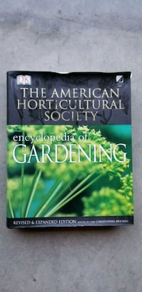 Encyclopedia of Gardening hard cover book Fort Myers, 33912