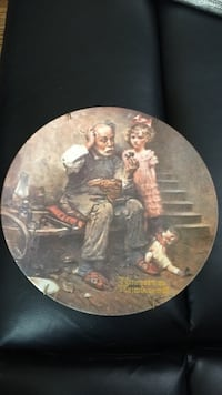 Norman Rockwell Limited Edition Collector Plate Lebanon, 37087