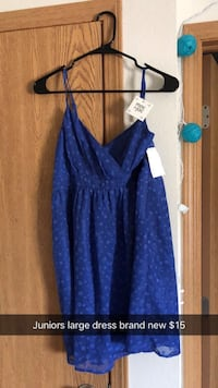 Juniors large dress (brand new with tags!)! Ankeny, 50021