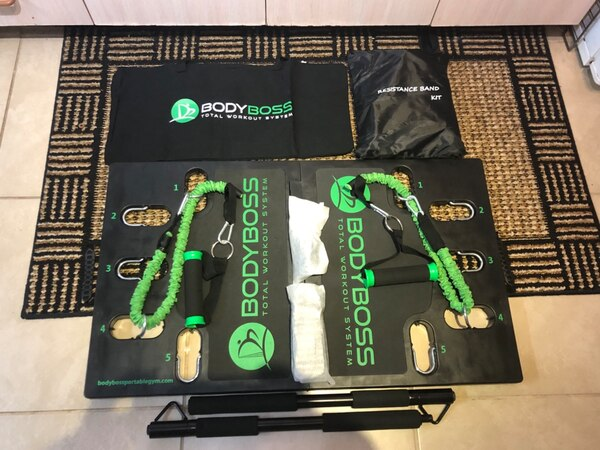 Brandnew BodyBoss Portable Gym with extra resistance bands
