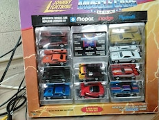 johnny lightning muscle cars set in box