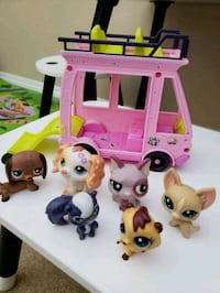 littlest pet shop with car Calgary, T3K
