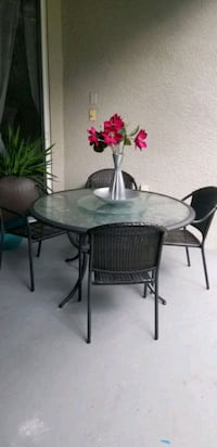 Patio Table with 4 Chairs Brandon, 33511