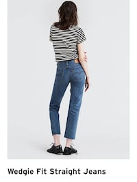 28in Levi's wedgie straight blue jeans London, N5X 4A8