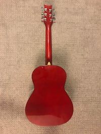 Gently used beaver creek BCTD601CbB guitar with case