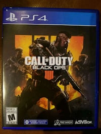 Call of duty balck ops 4 (PS4) Laval, H7W