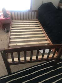 Twin wooden bed frame  Brookfield, 53045