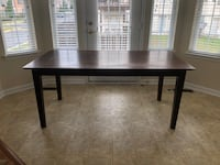 Crate and Barrel Dining Table stable and sturdy the top just needs some TLC Alexandria, 22314