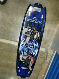 blue and black snowboard with bindings Capitol Heights, 20743