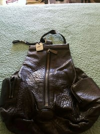 Kenneth Cole leather backpack 222 mi