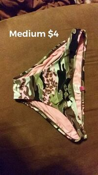 medium green and brown camouflage panty Harrison, 72601