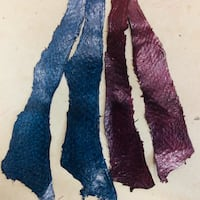 FISH SKIN LEATHER - $16.Each or 3/$40 or 10/$120 Nanaimo, V9T 2K8