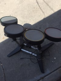 Black and gray electric drum set rock bend Carson, 90810