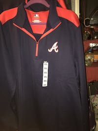 Atlanta Braves Pullover Jacket.