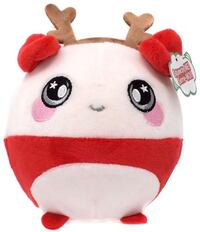 white and red bear plush toy 556 km