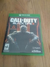 Call of Duty Black Ops 3 Xbox One game case Burlington, L7M