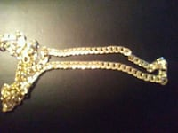 28 inches cuban link necklace gold filled Winnipeg, R3E 1C3