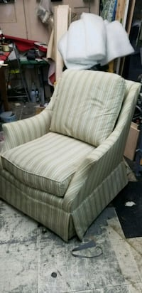 2 chairs, 95% good condition, fabric is in good shape.  North Bergen, 07047
