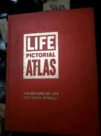 """1961 """"LIFE"""" Pictorial Atlas Chattanooga"""