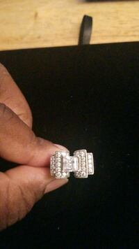 Sterling silver  ring with CZ stone Hyattsville, 20784