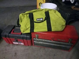 Tool chests and bag