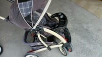 baby's black and gray stroller Milton, L9T 8A8