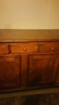Solid Wood Kitchen hutch base.. Asheville