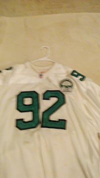 white and green NFL jersey El Paso