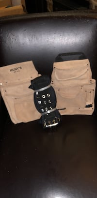 Dual tool pouch/belt