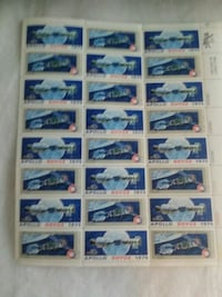 Sheet of collectible stamps Pinellas Park, 33782