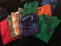 Assorted-color polo shirt lot Kyle, 78640