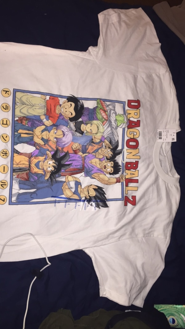 Dragonball Z crew neck shirt