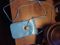 Blue phone case/purse