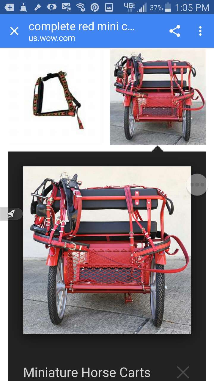 Used, miniature horse carts for sale