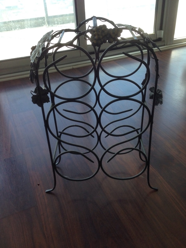 Steel wine rack 1