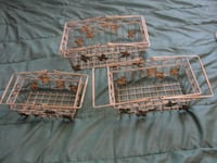 Set Of 3 Metal Baskets        Havelock, ON K0L 1Z0, Canada