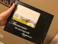 4x6 Black Frame with Quote  Lake in the Hills, 60156
