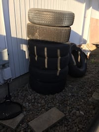 Free tires with rims Eugene, 97402