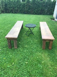 two brown wooden side tables Yonkers, 10701