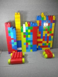 Mega blocks for toddlers.