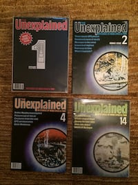 Unexplained Magazine - first edition Alexandria, 22304