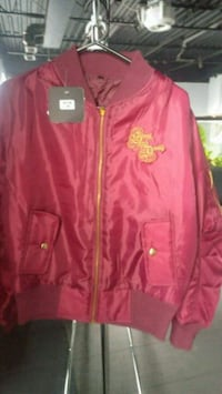 red zip-up jacket Mississauga, L4Y 4G6