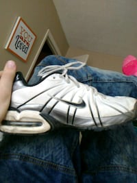 pair of white-and-black Nike basketball shoes Nicholasville, 40356