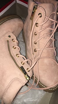 Brand new Pink Guess Boots