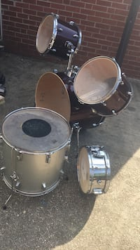 black and gray drum set Arlington, 22203