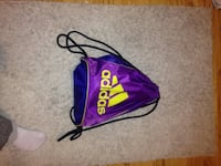 purple Adidas drawstring backpack 1305 km