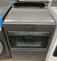 Whirlpool 7.4 Cu. Ft. Chrome Shadow Electric Dryer WED7500GC