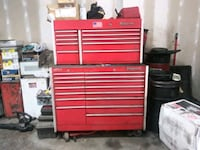 red and gray tool cabinet Alexandria