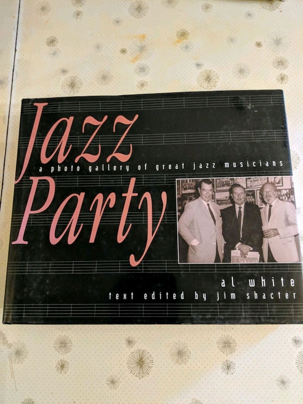 Used Jazz Party Coffee Table Book For Sale In Niagara Falls Letgo