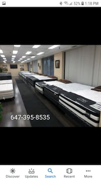 brand new mattress and box springs for sale from 1 Mississauga